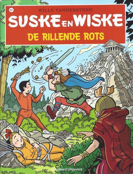 Suske en Wiske 307 De rillende rots