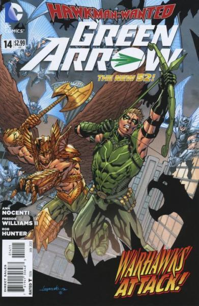 Green Arrow D14 Hawkman: Wanted, Part 2: Sky War