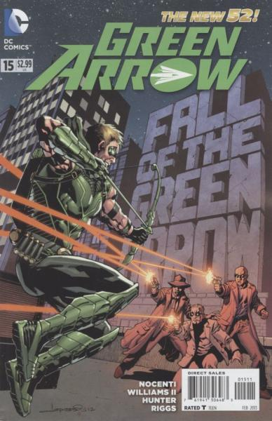 Green Arrow D15 Harrow