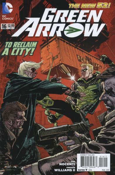 Green Arrow D16 Harrow, Part 2: Battle for Seattle