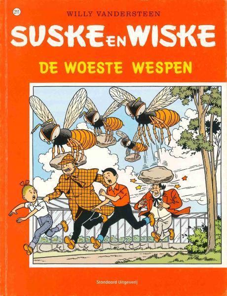 Suske en Wiske 211 De woeste wespen
