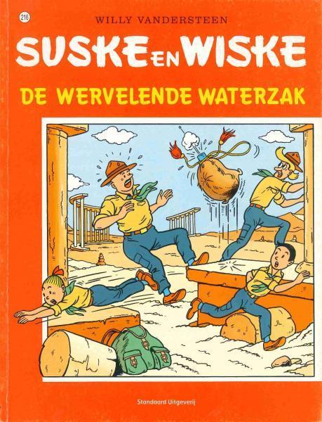 Suske en Wiske 216 De wervelende waterzak