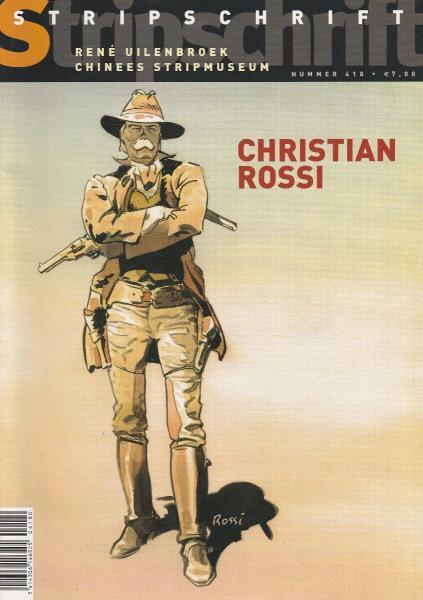 Stripschrift 418 Christian Rossi