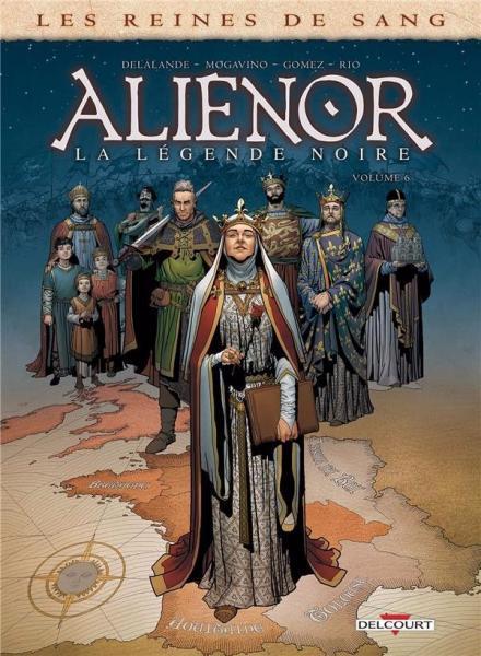 Eleonora, de zwarte legende 6 Alienor, la légende noire - 6