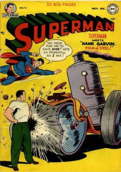 superman temp - te verplaatsen naar hoofdreeks 73 Issue #73
