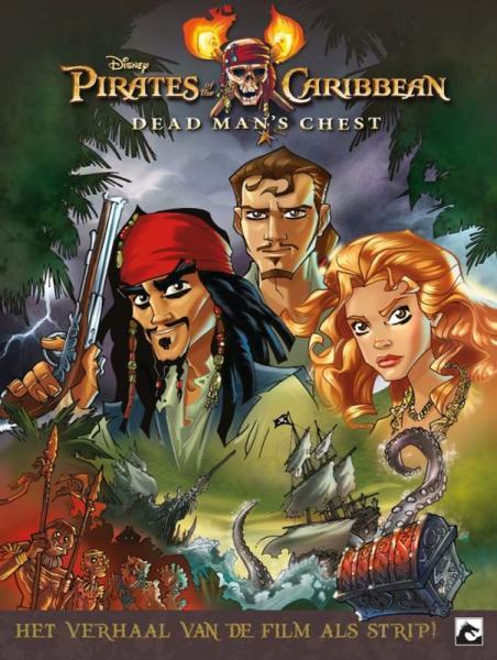 Pirates of the Caribbean (Dark Dragon) 2 Dead man's chest