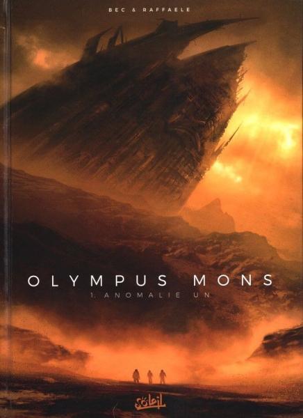 Olympus mons 1 Anomalie un