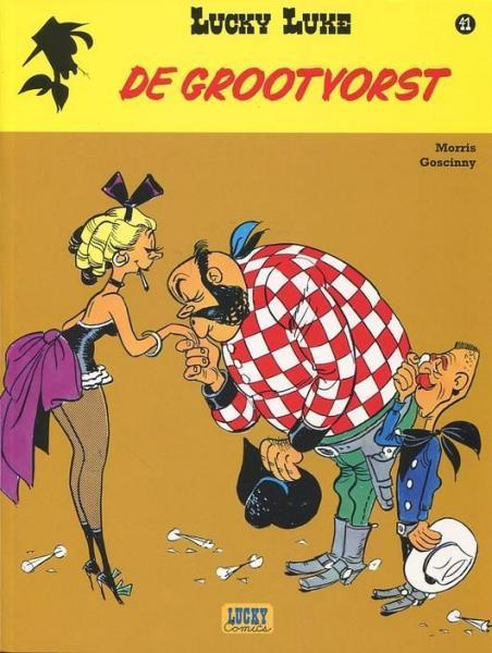 Lucky Luke (Lucky Comics, hernummering) 41 De grootvorst