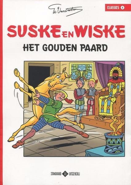 Suske en Wiske classics 8 Het gouden paard