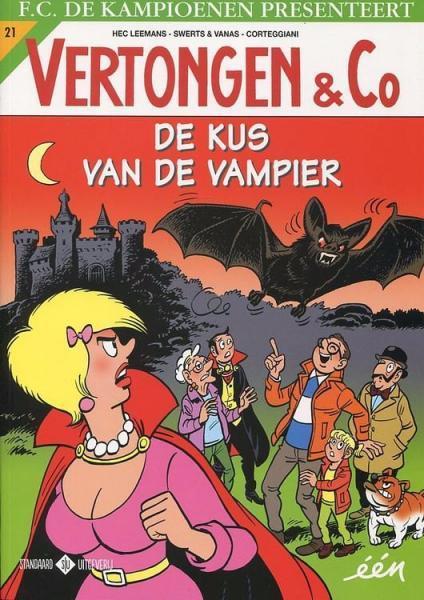 Vertongen en Co 21 De kus van de vampier
