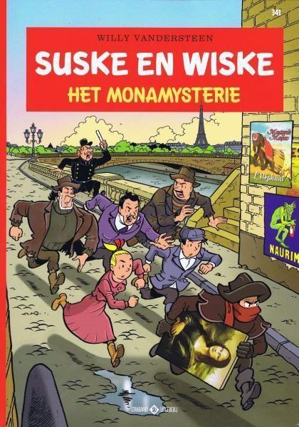 Suske en Wiske 341 Het Monamysterie