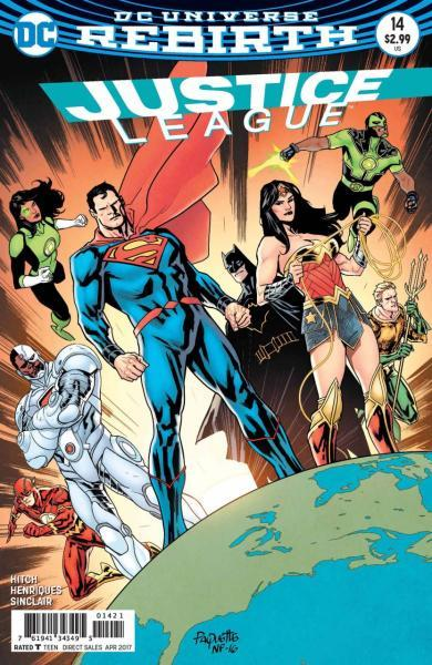 Justice League B14 Regroup