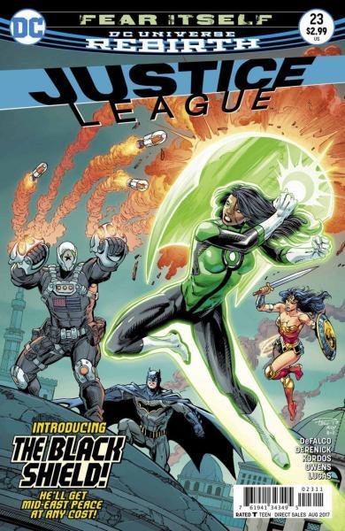 Justice League B23 Fear Itself