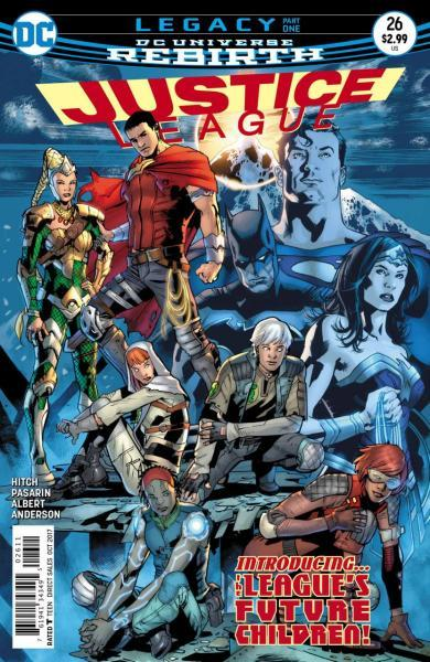 Justice League B26 Legacy, Part 1