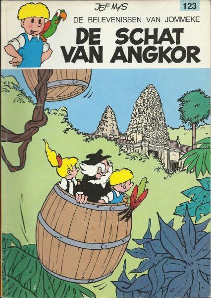 Jommeke 123 De schat van Angkor