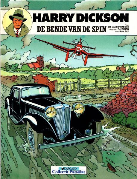 Harry Dickson (Dargaud/Art & BD) 1 De bende van de spin