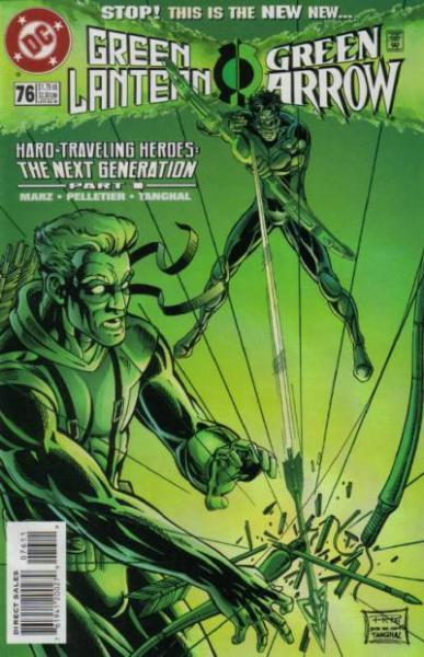Green Lantern B76 Hard-Traveling Heroes: The Next Generation, Part 1
