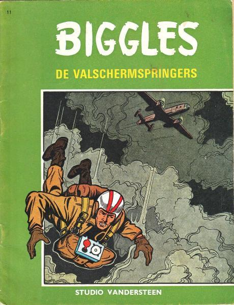 Biggles (Studio Vandersteen) 11 De valschermspringers
