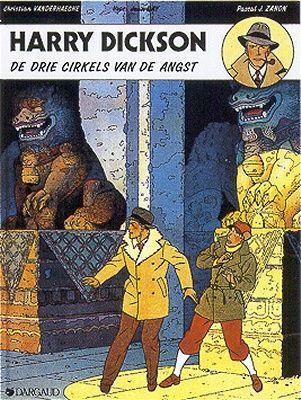 Harry Dickson (Dargaud/Art & BD) 3 De drie cirkels van de angst