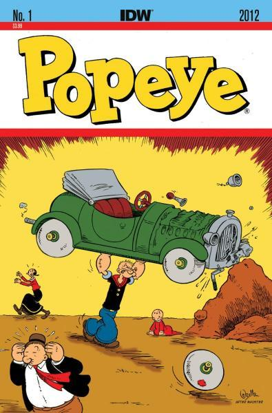 Popeye (IDW) 1 The Land of Jeeps!