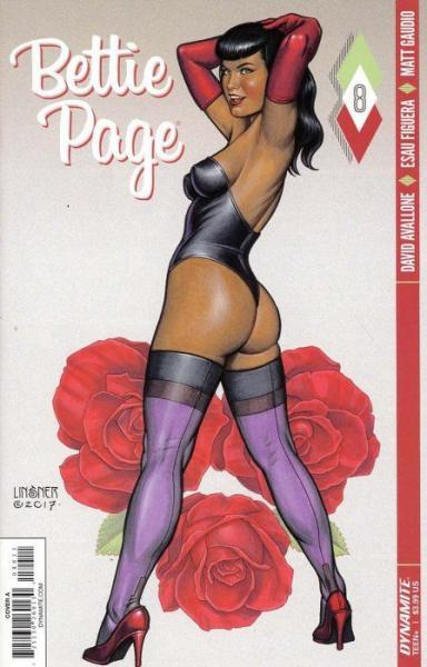 Bettie Page (Dynamite Entertainment) 8 The Secret Diary of Bettie Page, Part 8: Naked Lunch