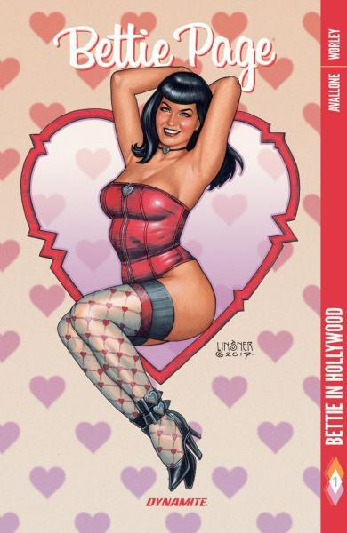 Bettie Page (Dynamite Entertainment) INT 1 Bettie In Hollywood
