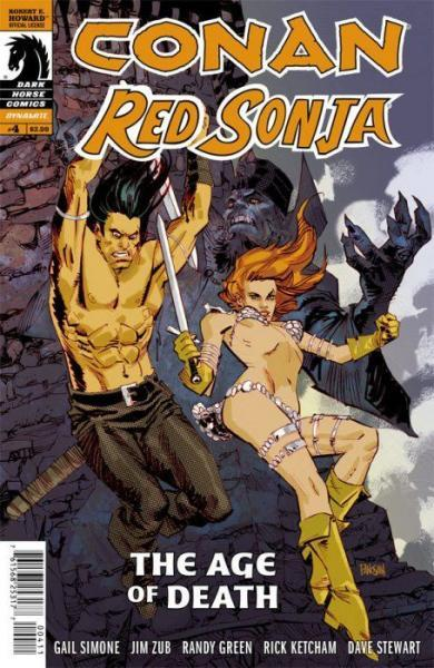 Conan Red Sonja 4 The Age of Death