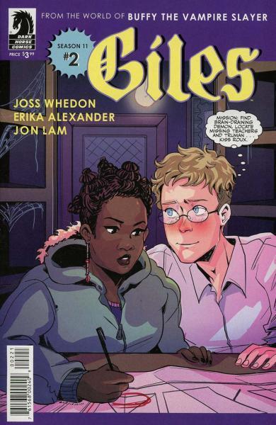 Giles Season 11 2 Girl Blue, Part 2
