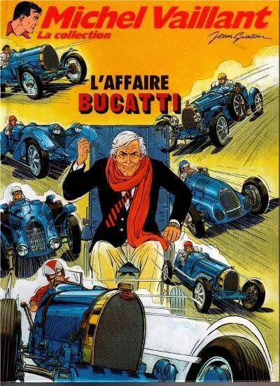 Michel Vaillant 54 L'affaire Bugatti