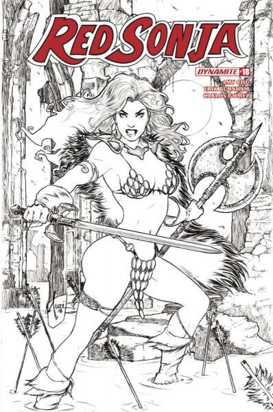 Red Sonja (Dynamite Entertainment) C18 The Blade of Skath, Part 1