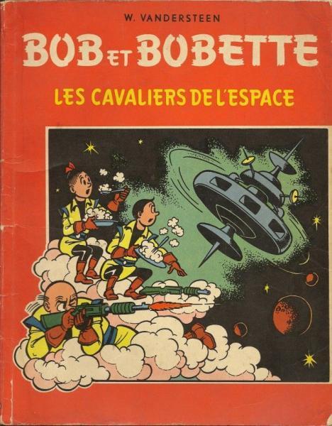 Bob et Bobette (oude Franse nummering) 32 Les cavaliers de l'espace