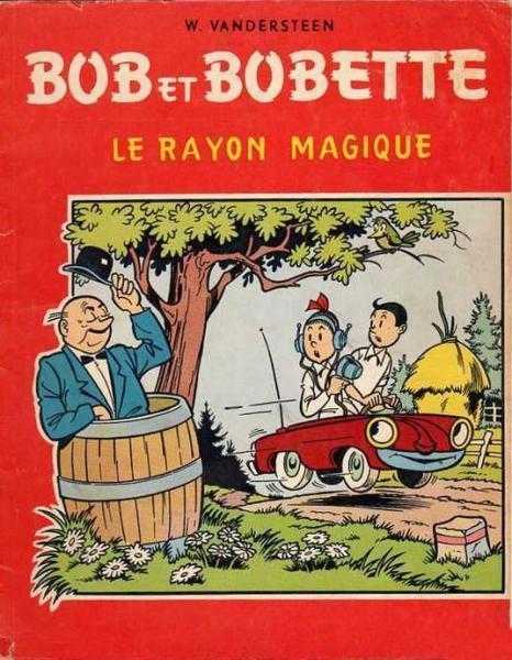 Bob et Bobette (oude Franse nummering) 33 Le rayon magique