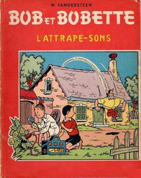 Bob et Bobette (oude Franse nummering) 34 L'attrape-sons