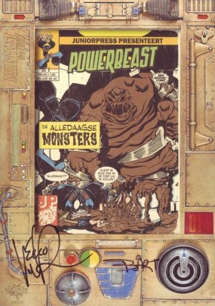 Powerbeast mini comix 1 De alledaagse monsters