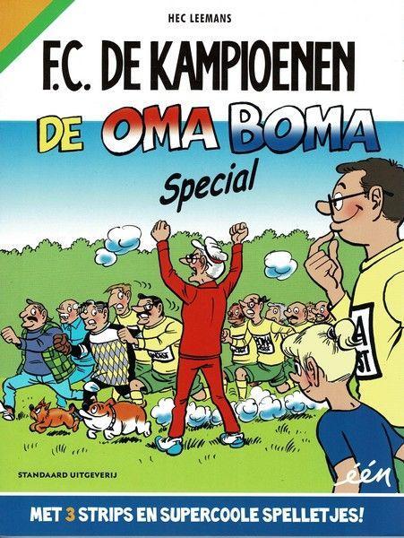 F.C. De Kampioenen INT 29 De Oma Boma-special