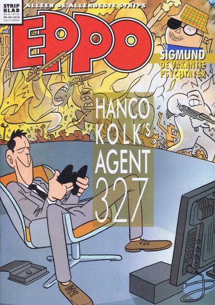 Eppo - Stripblad 2018 (Jaargang 10) 16 Nummer 16