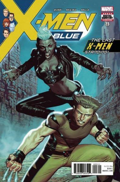 X-Men Blue 23 Cry Havok, Part 1