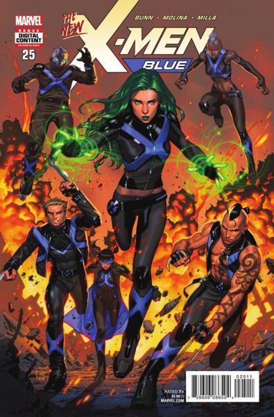 X-Men Blue 25 Cry Havok, Part 3