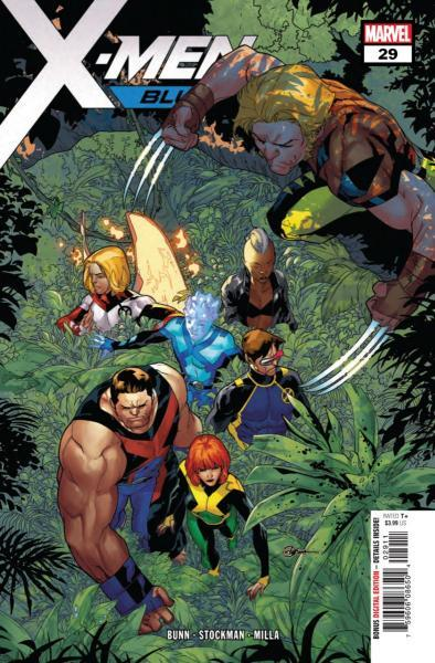 X-Men Blue 29 The Search for Jimmy Hudson, Part 1