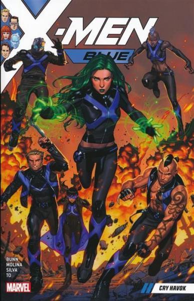 X-Men Blue INT 4 Cry Havok