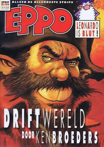 Eppo - Stripblad 2018 (Jaargang 10) 21 Nummer 21