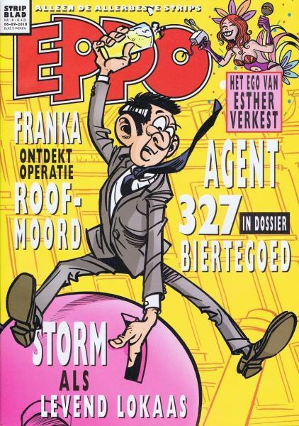 Eppo - Stripblad 2018 (Jaargang 10) 18 Nummer 18