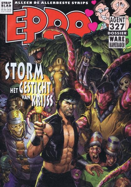 Eppo - Stripblad 2018 (Jaargang 10) 9 Nummer 9