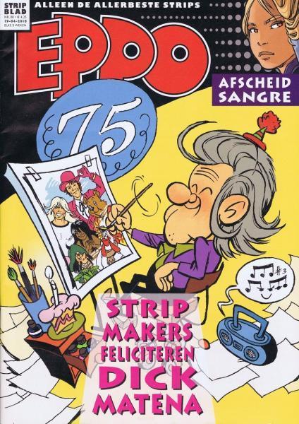 Eppo - Stripblad 2018 (Jaargang 10) 8 Nummer 8