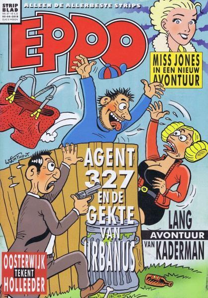 Eppo - Stripblad 2018 (Jaargang 10) 7 Nummer 7