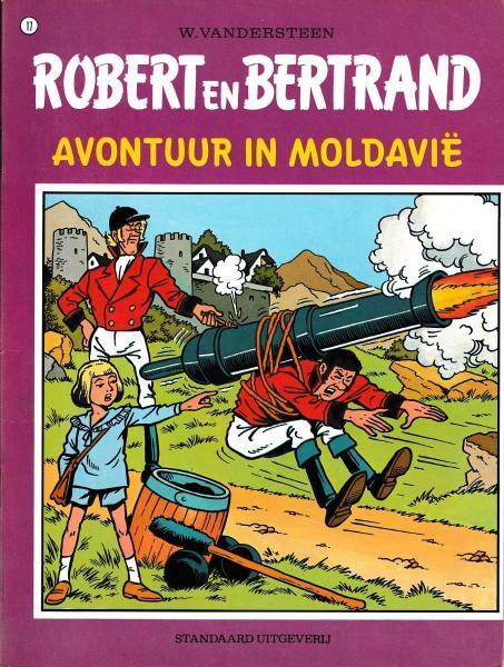 Robert en Bertrand 17 Avontuur in Moldavië