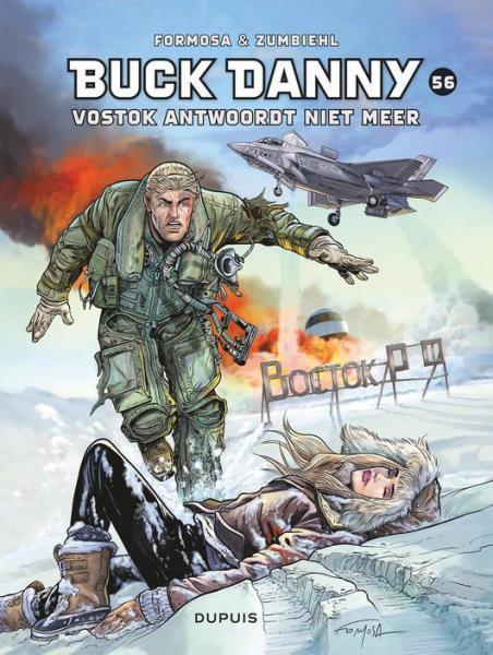 Buck Danny 56 Vostok antwoordt niet meer