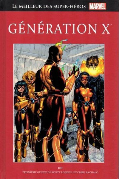 Marvel comics - Le meilleur des super-héros  (Hachette) 79 Génération X