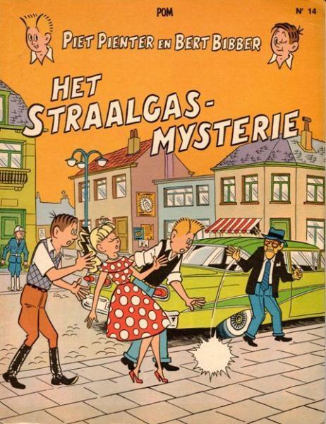 Piet Pienter en Bert Bibber 14 Het straalgas-mysterie