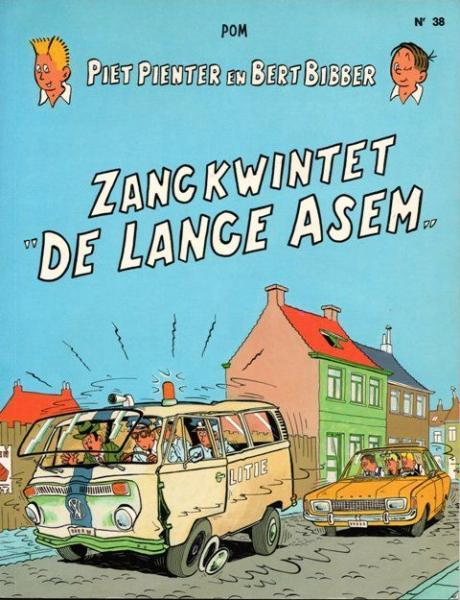 Piet Pienter en Bert Bibber 38 Zangkwintet